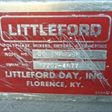 Littleford Day Inc. Model 40 IMP Gum Double Arm Gum Mixer 5