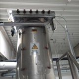 REIMELT Stainless Steel Holding Tank with Vibrating Sieve Unit 3