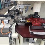 Acma Model TF1 Tray Form & Filling Machine with Nordson Gluing System 7