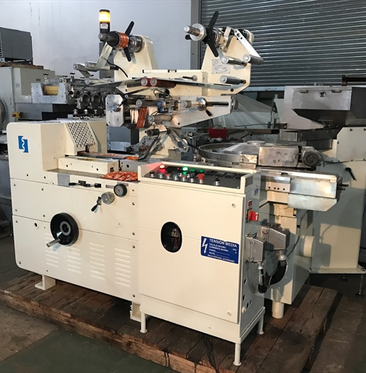 Eurosicma Model EURO80 Single Pieces Candy Wrapping Machine