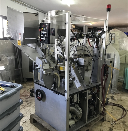 IWKA TFS10 Complete Single Head Hot Air Tube Filler