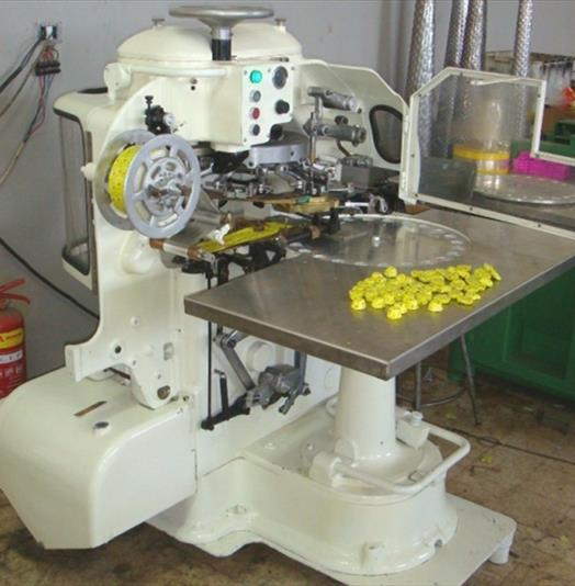 Rose Forgrove Model 6MC Heart Shaped Chocolate Foil Wrapping Machine