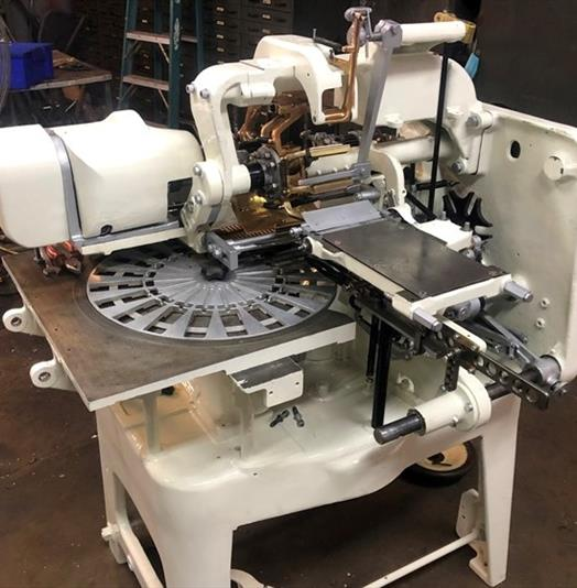 Forgrove Type 22D Lollipop Double Twist Wrapping Machine