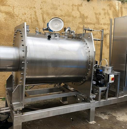 All Stainless Steel Horizontal Chocolate Or Jam Mixing Tank