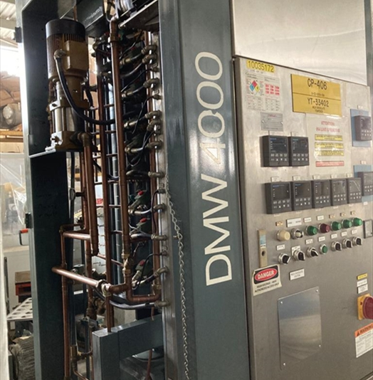 Aasted Mikroverk Type DMW4000 Chocolate Tempering Machine
