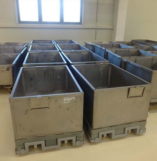 Stainless Steel Candy Trolleys
