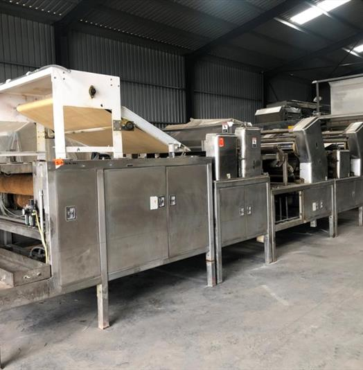 Thomas L Green 60-in. Twin Colour Biscuit Sheeting Line
