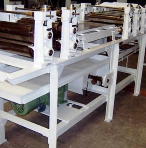Gimpel Rolling & Scoring Gum Line with Gum Extruder Machine